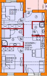 Layout Apartment Kirschblüte